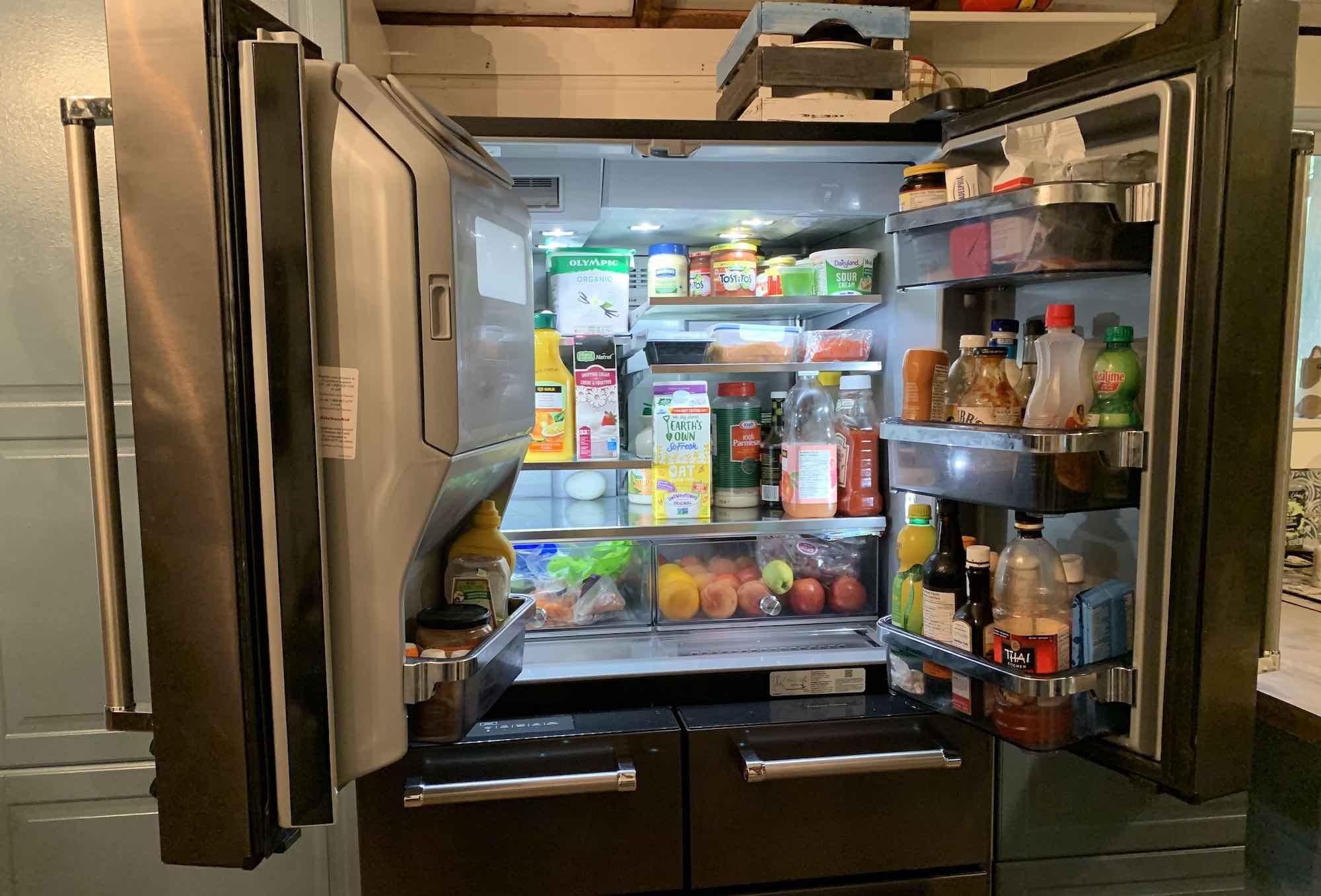 KitchenAid 5 Door French Door fridge