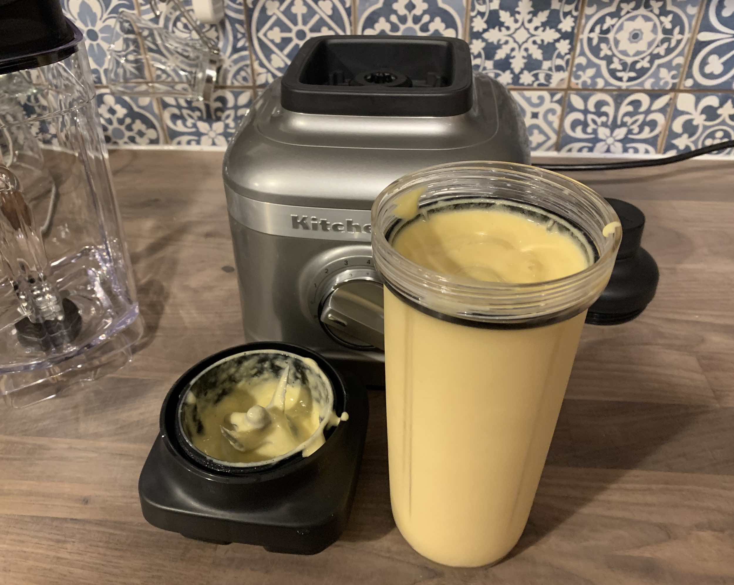 KitchenAid K400 blending cup and lid