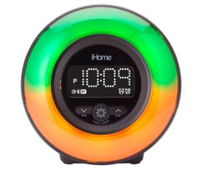 iHome IBT295BC2 Bluetooth Alarm Clock With USB Port