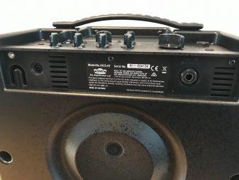 ABS construction and bass reflex port