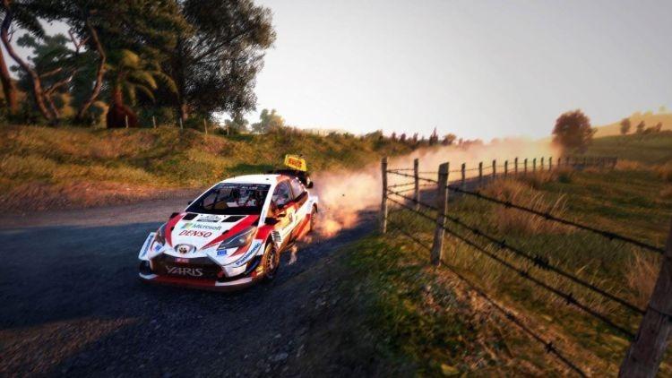WRC 9 Dirt Post