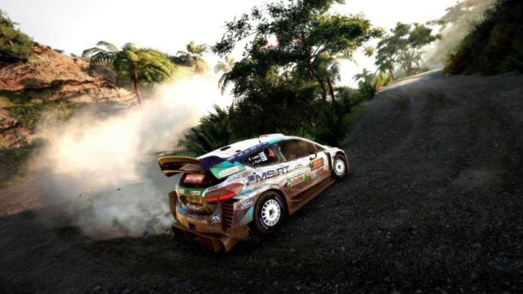 WRC 9 - Dust