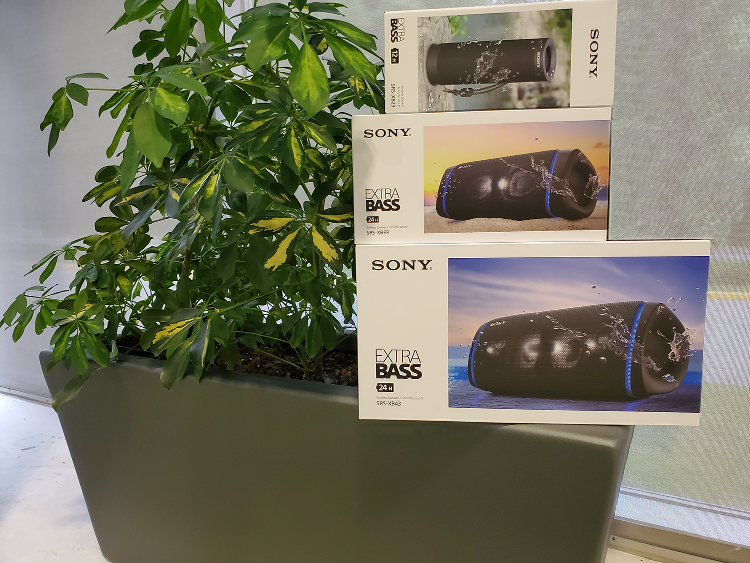 Sony SRS speakers contest feature image