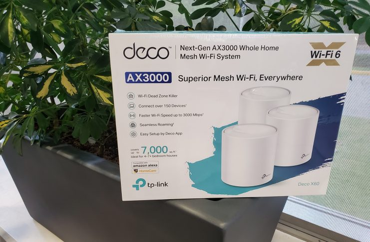 TP link mesh Wi-Fi 6 ax router image