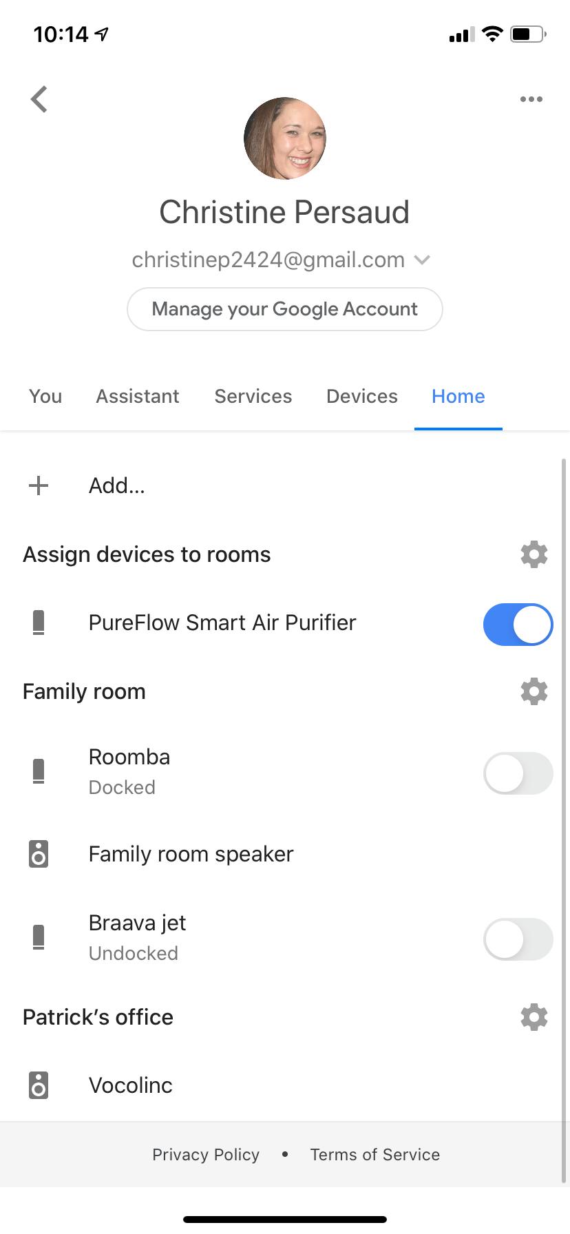 VOCOlink Google Assistant app