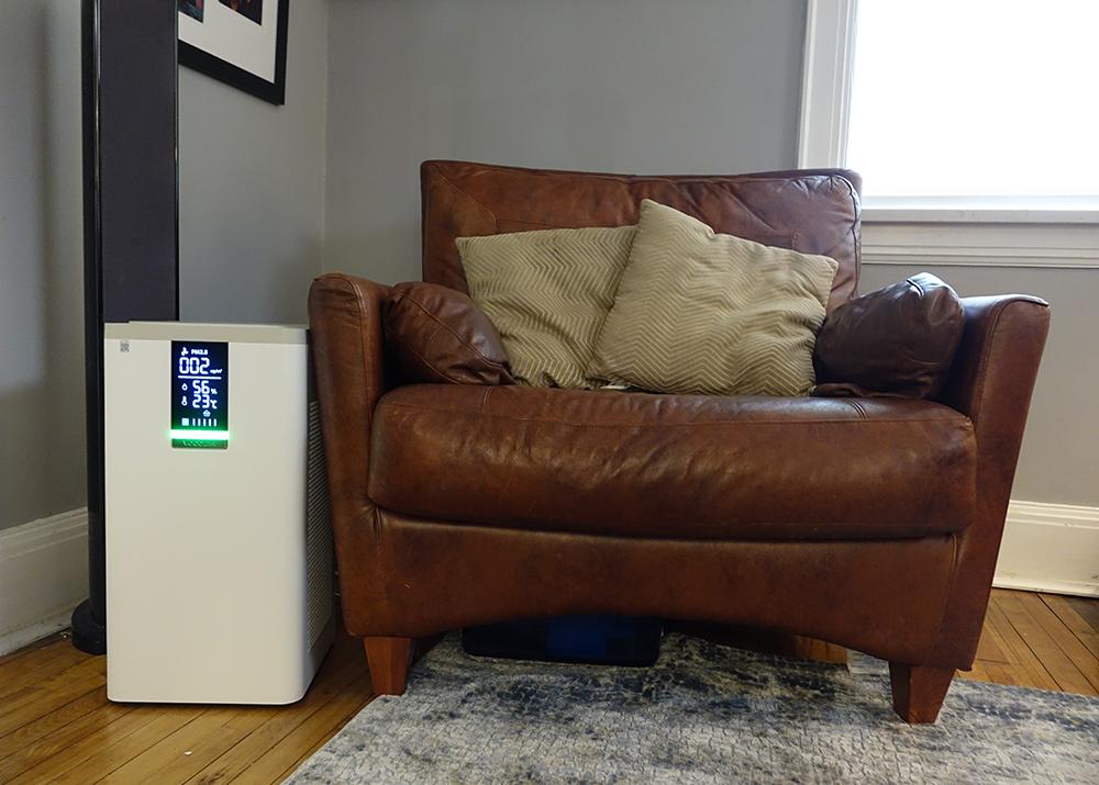 VOCOlinc Smart Air Purifier Living Room