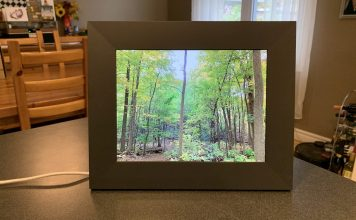 Aura Sawyer digital photo frame review