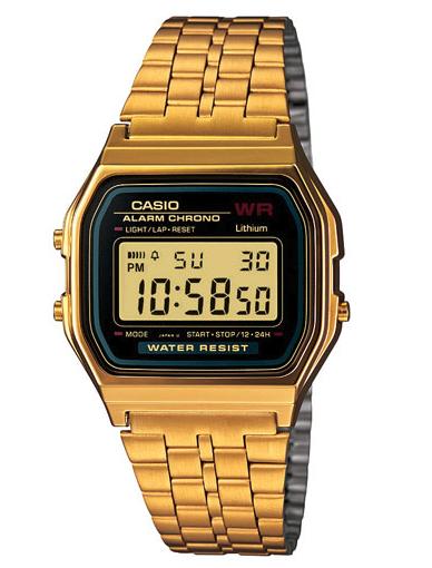 Casio Vintage 44mm Men's Digital Casual Watch