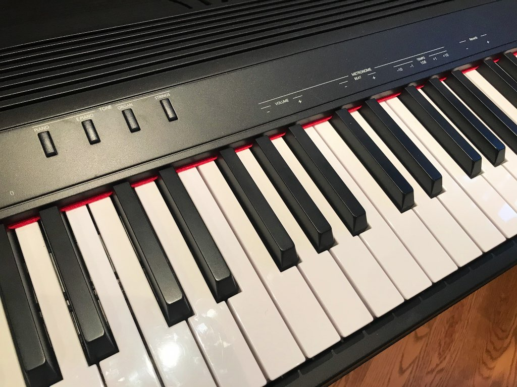 GO:PIANO 88 features 4 base sounds