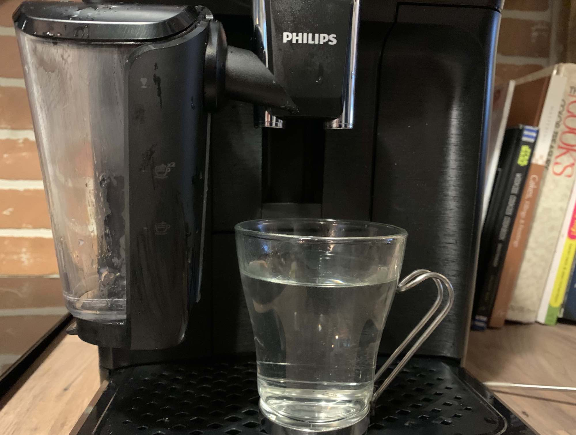 Hot Water Philips Automatic Espresso Machine