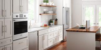 Kitchen with Bosch appliances