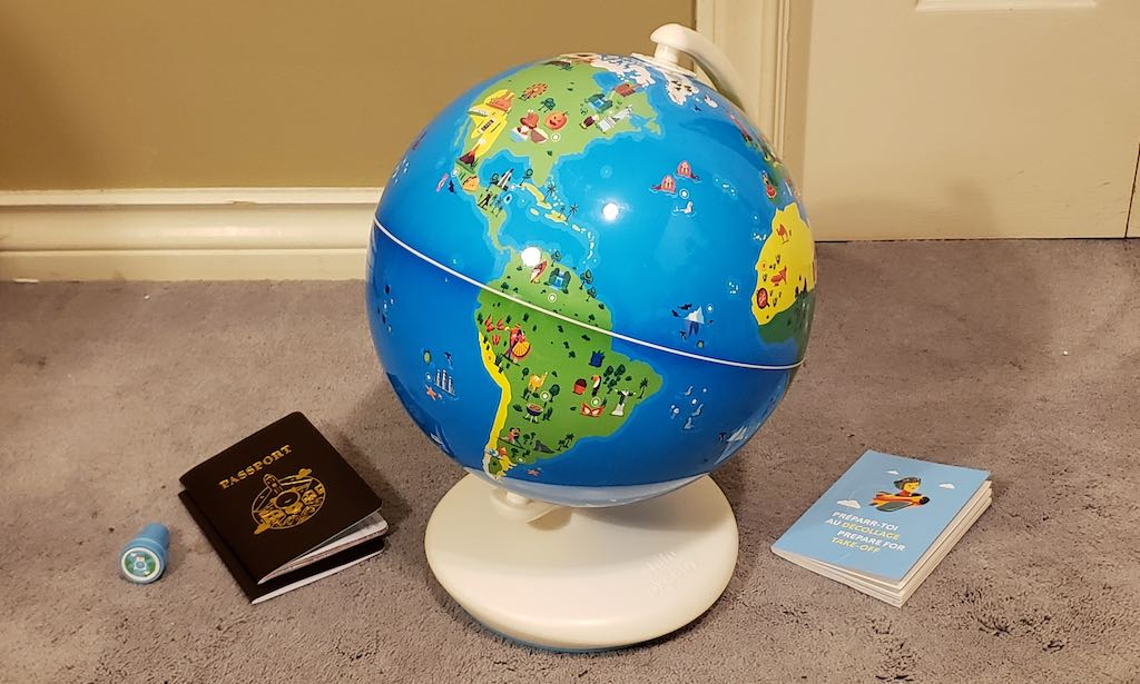 Orboot Augmented Reality Globe