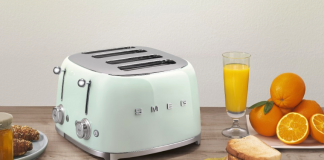 Retro-styled appliances in the kitchen
