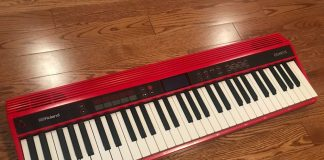 Roland 61 note keyboard