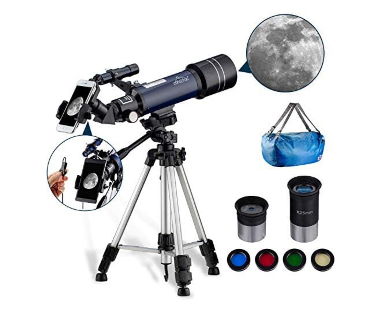 telescopes for blue moon Halloween 2020