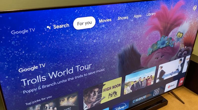 chromecast with google tv, review