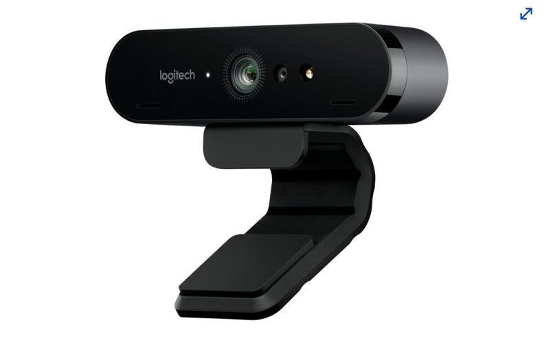 A photo of the Logitech BRIO Ultra HD Pro