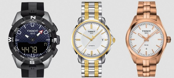 Tissot watches at Best Buy