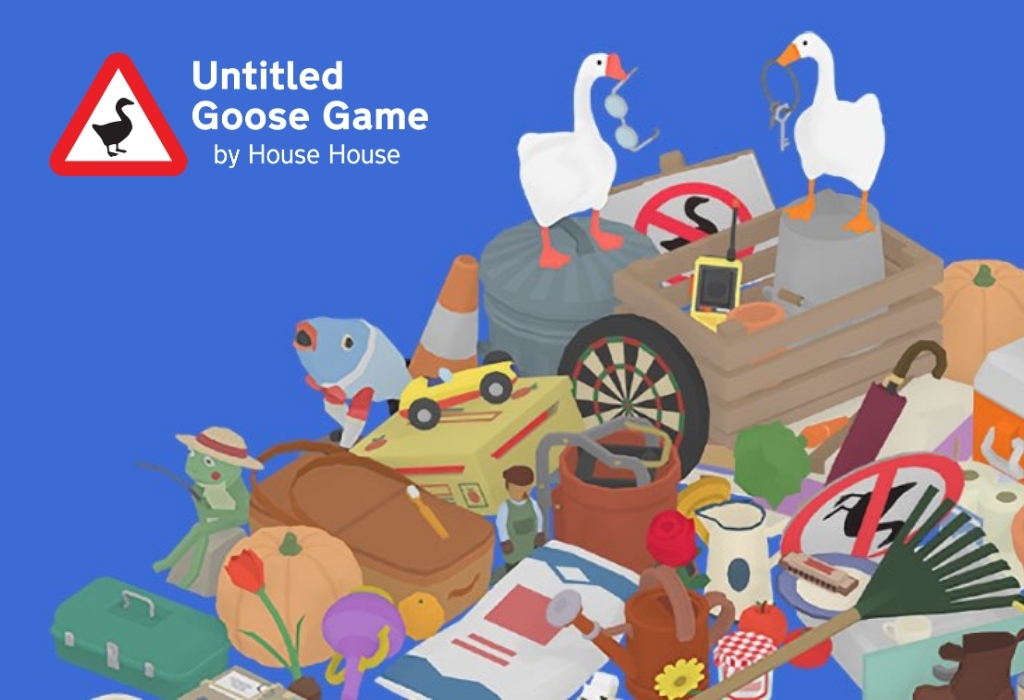 Untitled Goose Game Banner