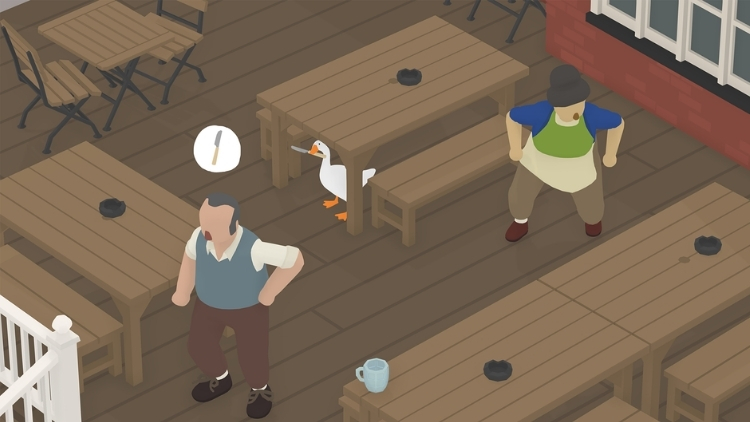 Untitled Goose Game Table Manners