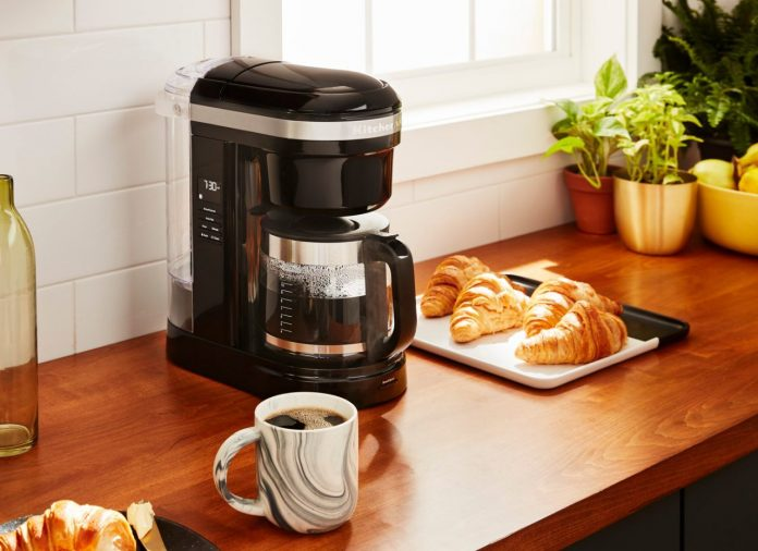 gifting a coffee maker