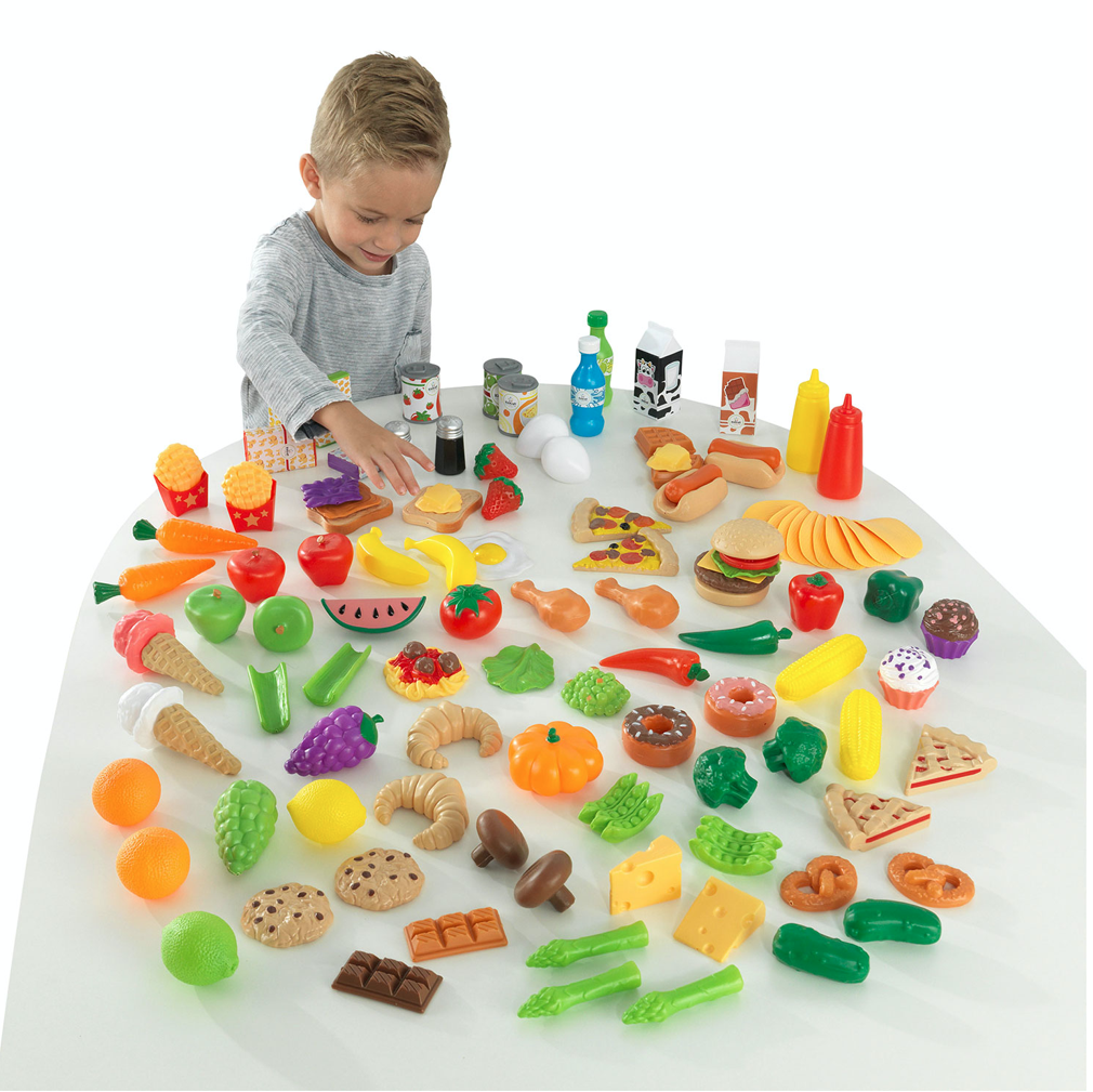 Melissa & Doug Play Food Set