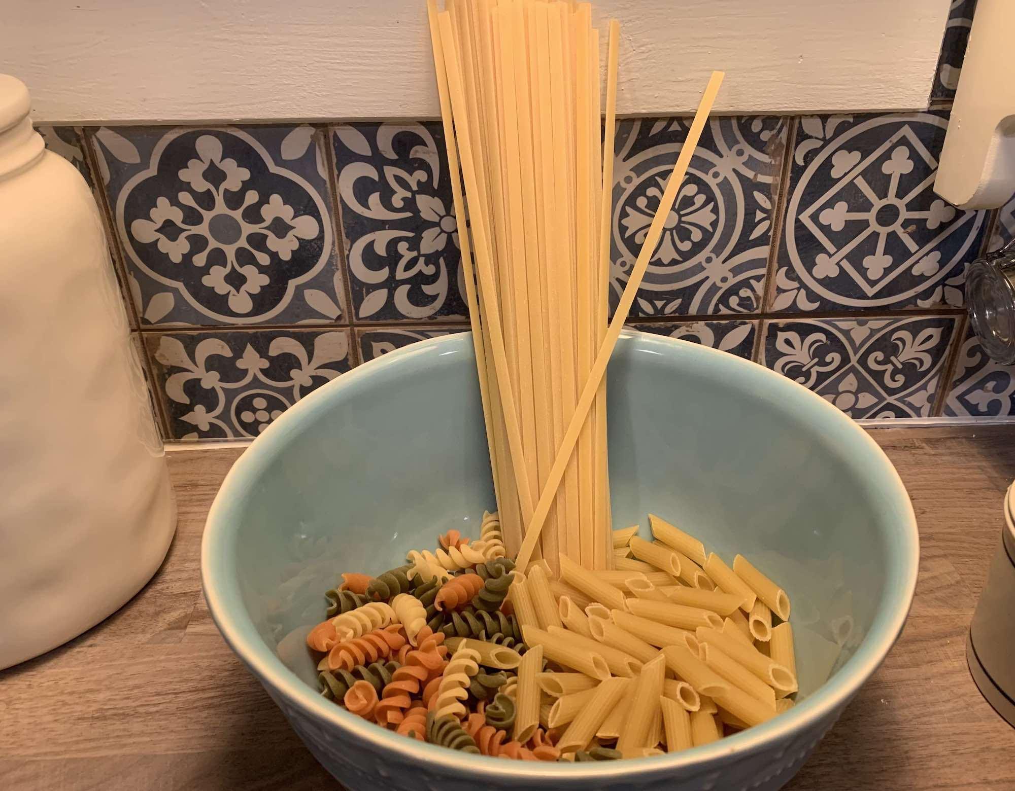 pasta vs spaghetti