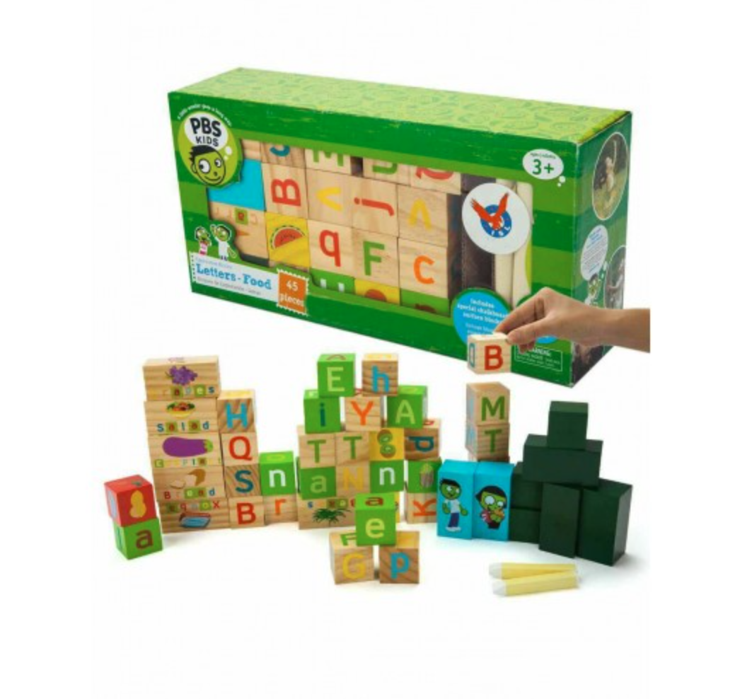 PBS Wooden Learning Blocks