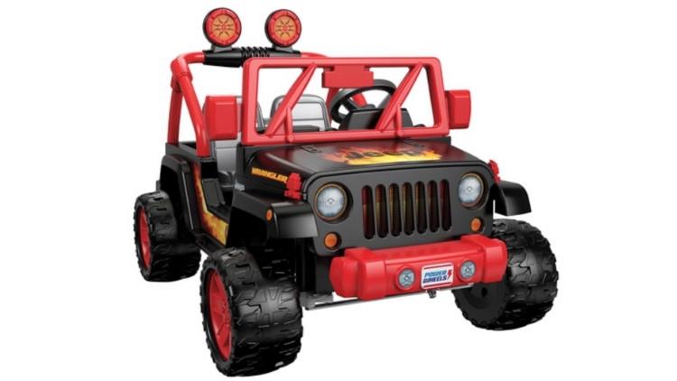 power ride-on jeep powe wheels