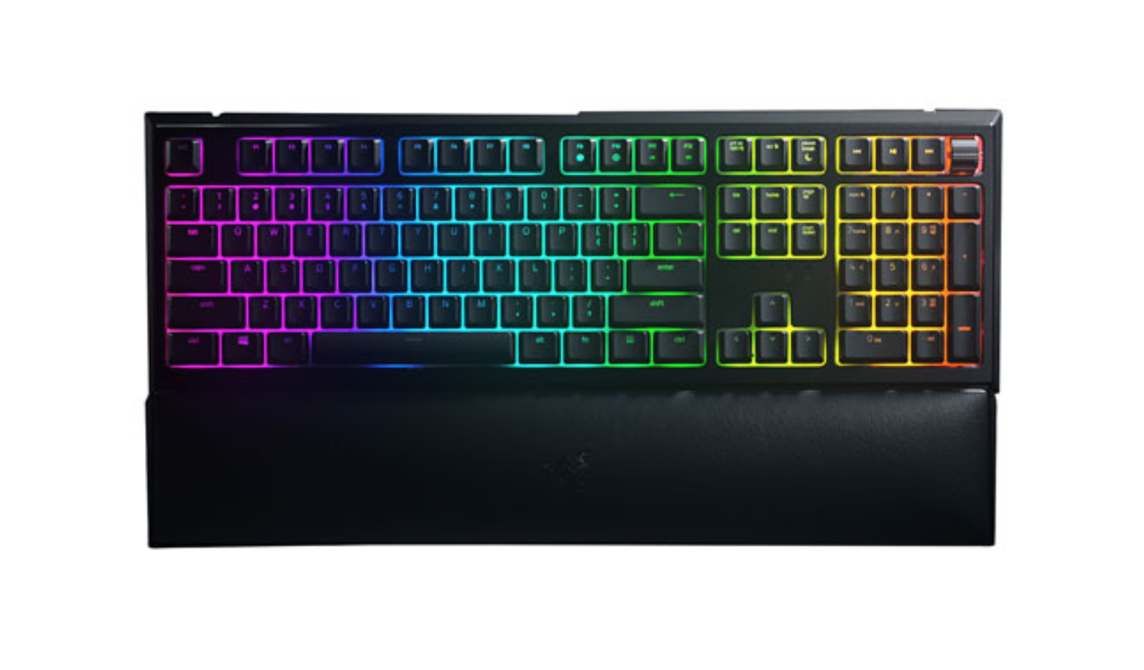 image of the Razer Ornata Chroma V2 Backlit Gaming Keyboard