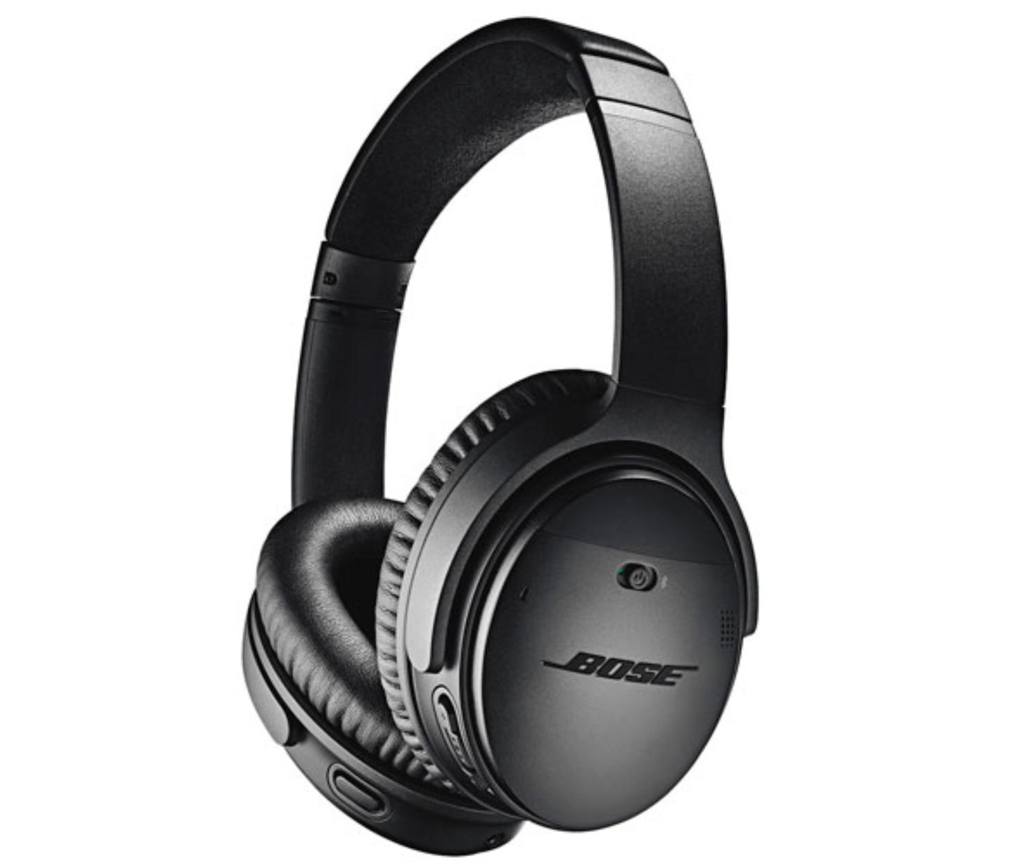 image of the Bose QuietComfort II over-ear headphones