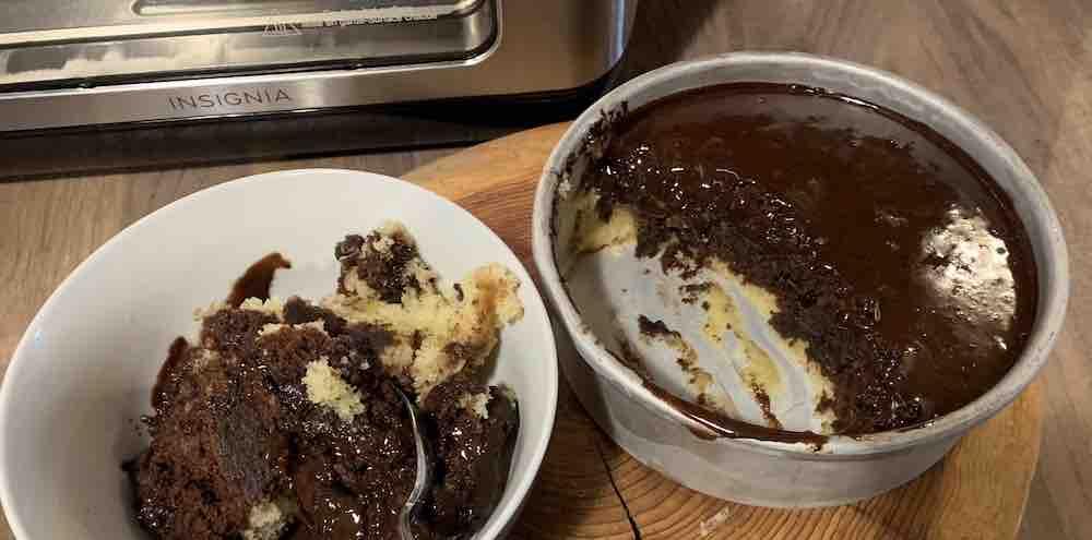 Air Fry Brownies