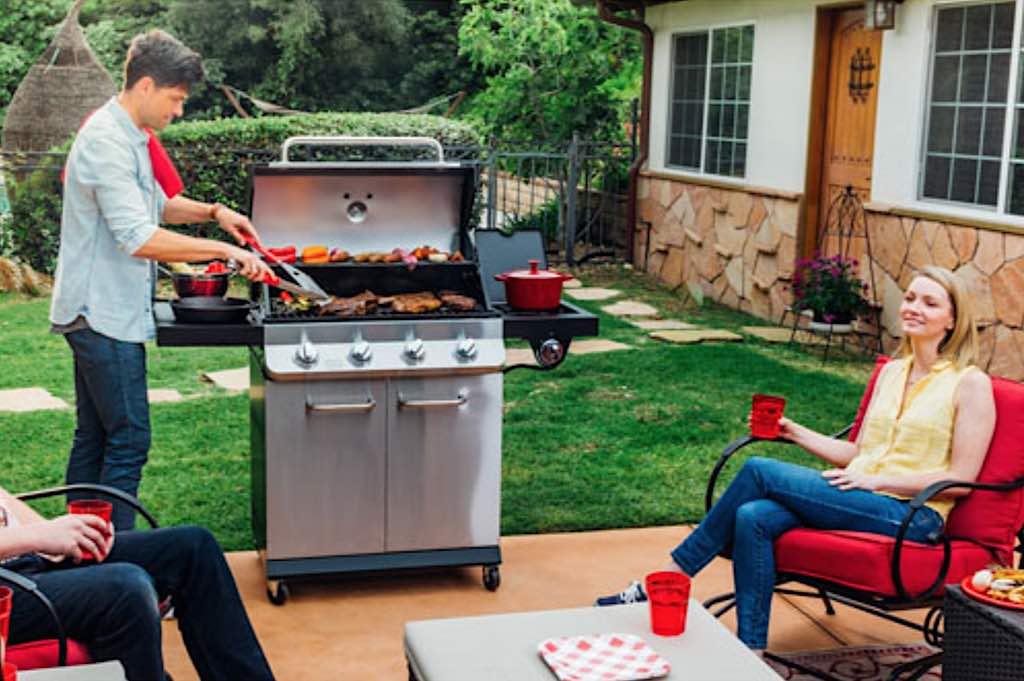 backyard cook