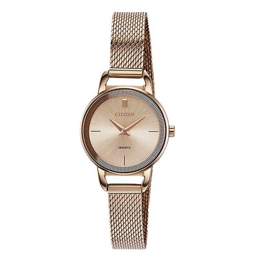 Citizen rose gold dress watch