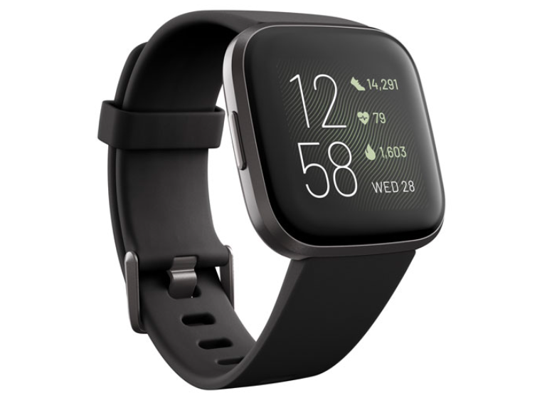 The Fitbit Versa 2 Smartwatch in black