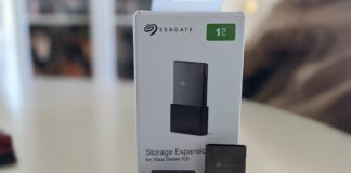 Seagate 1TB Storage Expansion Card