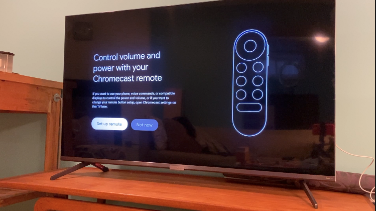chromeccast with google tv, set up, how to