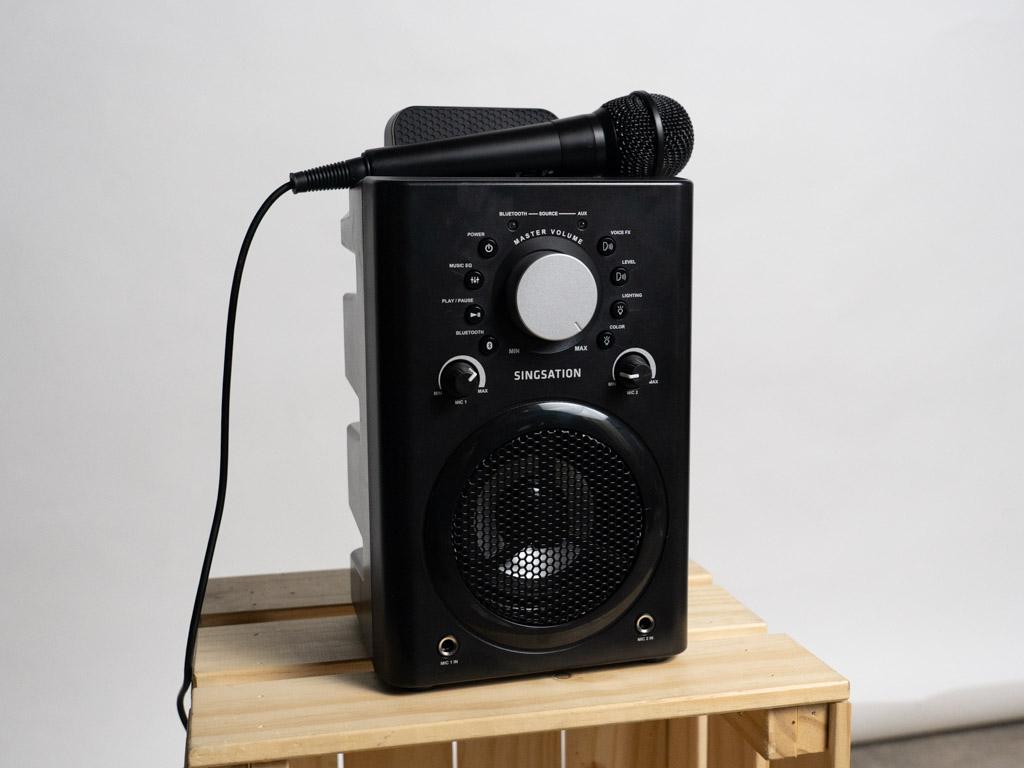 A photo of the Singsation Classic karaoke machine