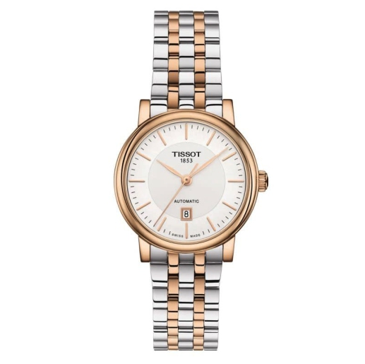 Tissot Carson Premium Automatic Ladies Two Tone Watch