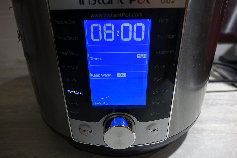Instant Pot screen