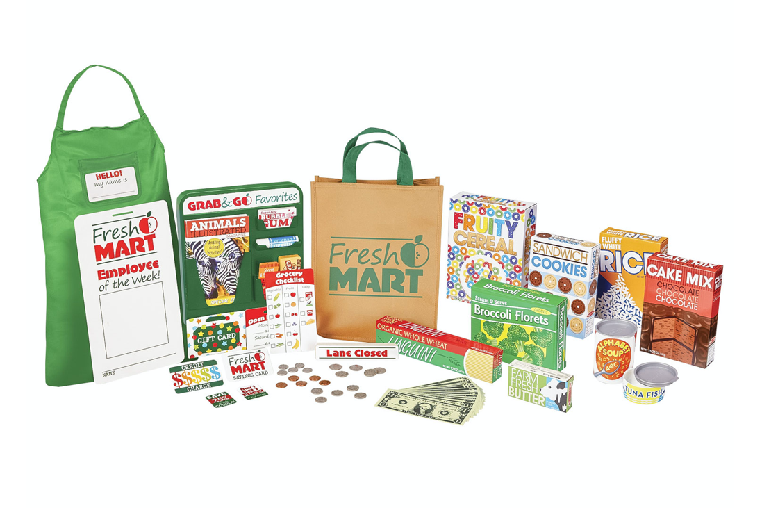 Pretend Play grocery items