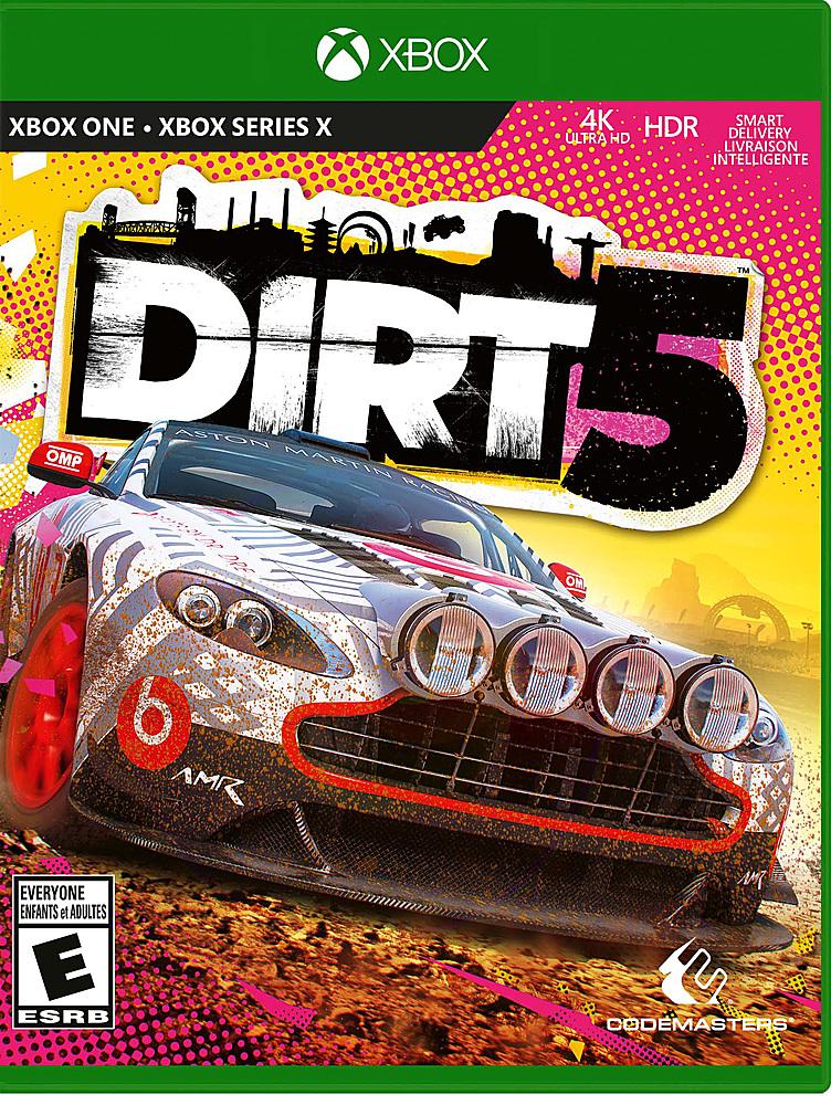 dirt 5 cover art