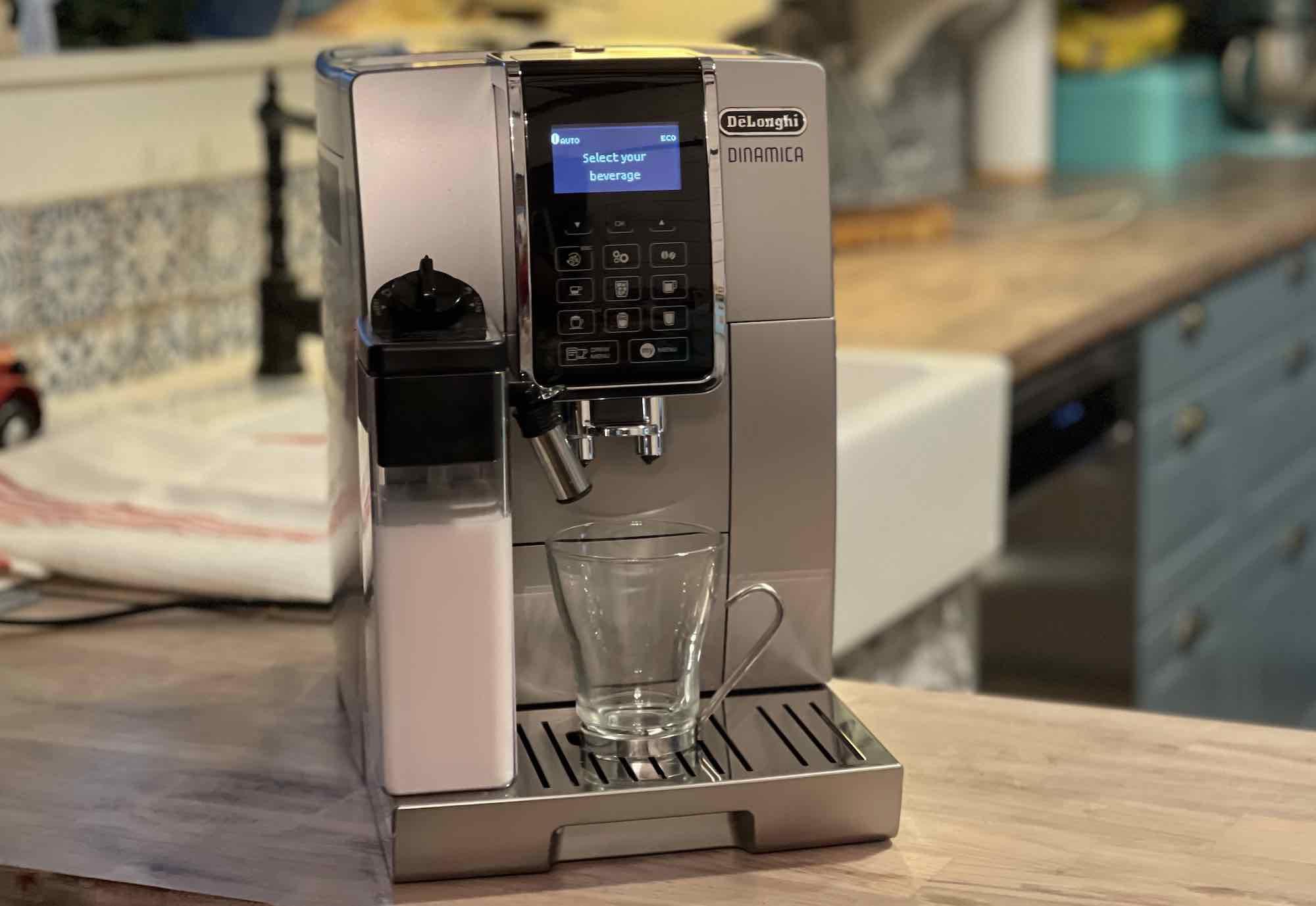 De'Longhi Dinamica Automatic Espresso Machine with LatteCrema Milk Frother Review