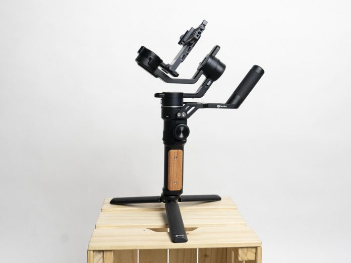 A photo of the FeiyuTech AK2000S camera stabilizer