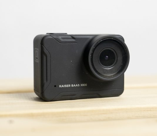 A photo of the Kaiser Baas X600 waterproof action camera