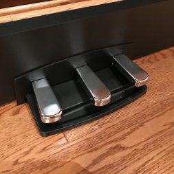 Triple pedal