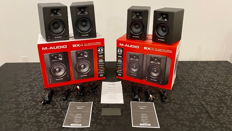 M-Audio BX3 and BX4 Unboxed