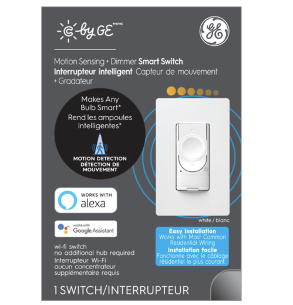 Wi-Fi Smart Dimmer Switch with Motion Sensor