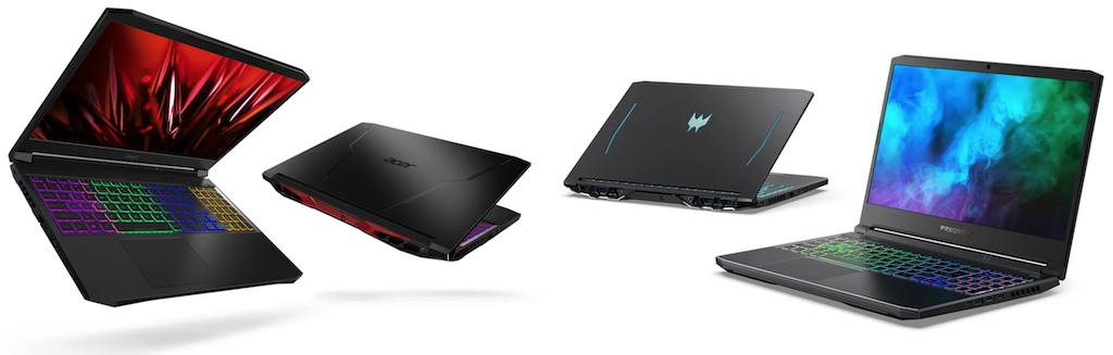 CES 2021 Acer laptops with AMD Ryzen 5000