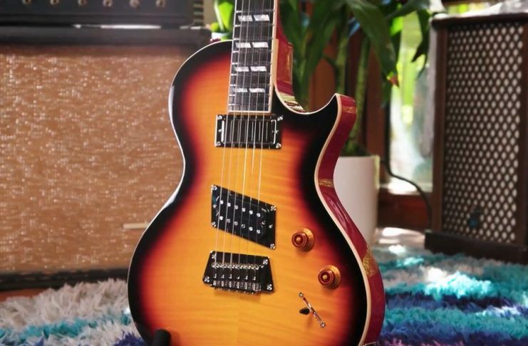 Epiphone's new guitar from NAMM